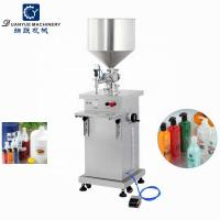 Priced to sell filling machine for perfume bottles 5-5000ml Vertical pneumatic paste filling machine Manufactures