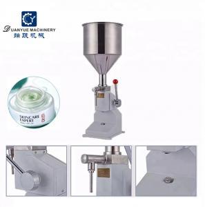 5-50Ml manual yogurt paste aerosol butter lotion bottle water filling machine Manufactures