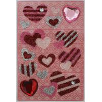 Colorful Recollections Bling Stickers design for scrapbook heart shape for sale