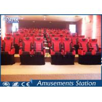 Dynamic Effect 5D Movie Equipment Cabinet 7D 9D Cinema House For Theme Park Manufactures