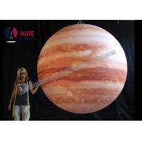 LED Inflatable Advertising Balloon Giant Inflatable Planets Solar System Manufactures