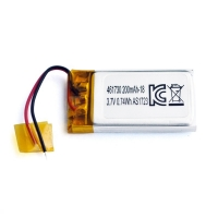 UN38.3 200mAh 3.7 V Lithium Polymer Battery Pack PL461730 Manufactures