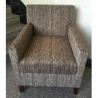 Hotel wooden fabric upholstery lounge chair ,hotel sofa,single sofa LC-0021 Manufactures