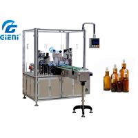 Rotary Essential Oil Bottle Filling Machine Single Nozzle Automatic Type Manufactures