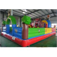 Custom Bear Inflatable Bounce House for Childrens , Fireproof 10m x 5m Manufactures