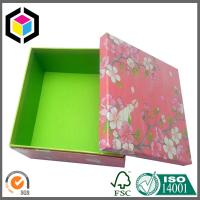 New Design 2016 Fashion Green Color Print Gift Box; Chipboard Paper Gift Box Manufactures