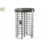 Electronic Security Single Full Height Turnstiles For Indoor Library Manufactures