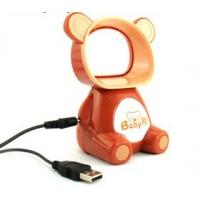bear shaped desk mini usb bladeless fan with USB adapter for digital power Manufactures