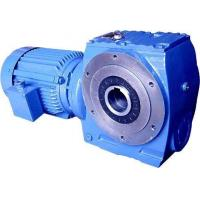 S Series Worm Gear Speed Reducer , Ac Motor Gear Reducer 1.8-61rpm Speed Manufactures