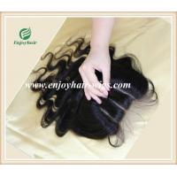 Lace top closure 4''x4'' ,brazilian virgin hair natural color body wave 10''-24''length Manufactures