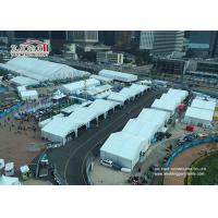 UV Prevented  Strong Frame  Outdoor Party Tent For  Formular E Events Manufactures