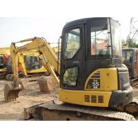 Komatsu PC55MR - 2 Second Hand Diggers12V Voltage With Rotation Pile 5160kg Manufactures