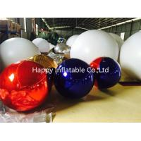 0.8mm Above PVC Rotating Mirror Ball Sliver / Blue / Golden OEM Manufactures