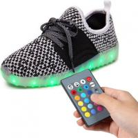 Bluetooth Remote Control LED Shoes Colorful For Music Festival Raving Manufactures