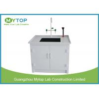 Small Laboratory Working Table PP Water Lab Bench with Cabinet Chemical Resistance Manufactures