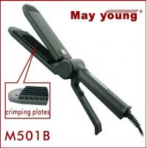 Buy cheap Professional digital scissors design hair crimper and straightener M501B from wholesalers