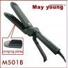 Professional digital scissors design hair crimper and straightener M501B Manufactures