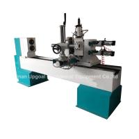 Turning Broaching Engraving Wood Lathe Machine with Double Axis Double Blade Manufactures