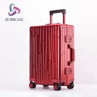 Buy cheap 2020 fashion luggage good quality ABS PC aluminum travel luggage from wholesalers