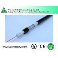 RG6 CCTV male cable coaxial cable Manufactures