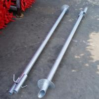 Round Tubular Helical Screw Anchors Seamless High Tensile Pipe Shaft Material Manufactures