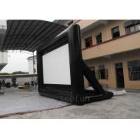 Portable Outdoor Inflatable Projection Screen 0.55 PVC Tarpaulin For Billboard Advertising Manufactures