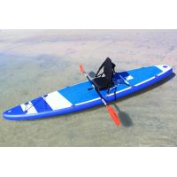 380cm Custom Paddle Boards SUP Sit On KAYAKA With 8 D Rings 2 Kayak Seats Manufactures