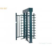 Bi-directional Full Height Turnstiles Single Double Channel Turnstile Gate Manufactures