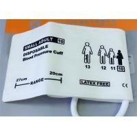 Single Tube Infant Size Blood Pressure Monitor Cuff NIBP Disposable Medical Accessories Manufactures