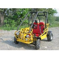 Yellow Motorized EEC  Dune Buggy Go Kart Electric Start , Hydraulic Brake Manufactures