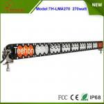 Wholesale price offroad 12v 24v 270w amber/white color led light bar for led warning light Manufactures
