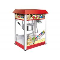 Theater 8 Ounces Popcorn Machine With Roof Top 220V 1450W / Snack Food Machine Manufactures