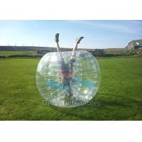 Amusement Park Football Sports Inflatable Bubble Ball Game 1.7m diameter Manufactures