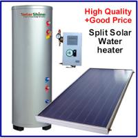 Intelligent Split Solar Water Heater , Flat Panel Solar Water Heater SP-150-500L Manufactures