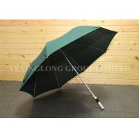 "Auto Open Green Straight Handle Umbrella Corporate Logo Golf Umbrella 27"" X 8k Manufactures"