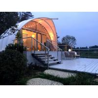 Buy cheap Cocoon-like Structure Resort Tents For Luxury Off-grid Camping With Aluminium from wholesalers