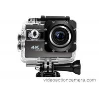 60fps HD 4K Waterproof Action Camera Camcorder With 30 Meter , NTK96660 CPU Manufactures