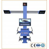 Four Wheel Drive 0.64cm Track Tyre Alignment Machine Manufactures