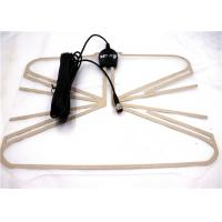 Black Color F - Male Indoor Hdtv Antenna All Local Broadcast 4k / Vhf / Uhf Signal Channels Manufactures