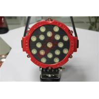 Quality Spot beam 12 Volt Waterproof 51W LED Driving Lights Led Tractor Work Lights with for sale