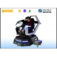 Racing Car Game Virtual Reality Motion Simulator With Steering Wheel Manufactures