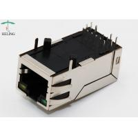 Long Body 32.5mm 10P8C Integrated Magnetics RJ45 With Transformer 1000M Base - T Lan Jack  R/A THT LED Manufactures