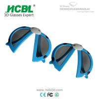 Virtual Reality Plastic Polarized Safety Glasses 3D Movie Glasses