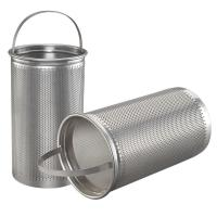 Basket Washable Furnace Filters Stainless Steel Mesh Strainer Manufactures