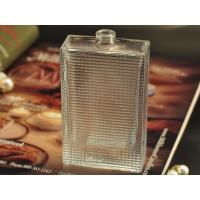 Custom Frosted Glass Perfume Bottles / Travel Refillable Perfume Bottles Manufactures