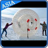 Clear Inflatable Human Hamster Ball ,  Zorb Ball Used On Snow for sale