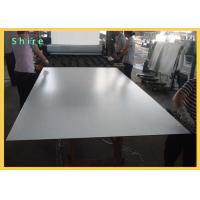 PE Self Adhesive Plastic Milky White Backing Protective Film For Mirror Safety Manufactures
