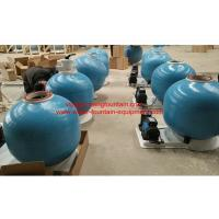 25 Inch Fiberglass Swimming Pool Sand Filters With Pump Set Filtration System Manufactures