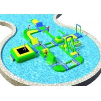 Durable Customized Inflatable Water Parks / Colorful Amusement Water Park Manufactures