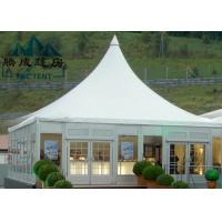 Fire Retardent Pagoda Canopy Tent Waterproof Lightweight For Restaurant Catering Manufactures